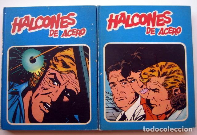 HALCONES DE ACERO. COLECCIÓN COMPLETA 2 TOMOS ENCUADERNADOS (Tebeos y Comics - Buru-Lan - Halcones de Acero)