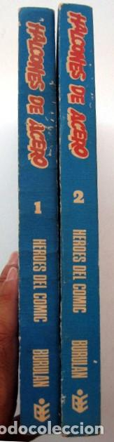 Cómics: Halcones de acero. Colección completa 2 tomos encuadernados - Foto 2 - 127555975
