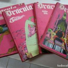 Cómics: TOMOS 2 - 3 - 4 - 5 DRACULA BURU LAN EDICIONES. Lote 127742387