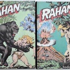 Cómics: RAHAN, BURU LAN, 2 TOMOS COLECCION COMPLETA (1974) DIBUJOS A. CHERET. Lote 128276543