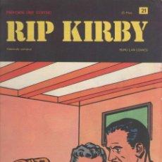 Cómics: RIP KIRBY-BURULAN-AÑO 1973-COLOR-FORMATO GRAPA-Nº 21-LOS RUBIES DE BANDAR. Lote 128613387