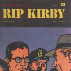 Cómics: RIP KIRBY-BURULAN-AÑO 1973-COLOR-FORMATO GRAPA-Nº 6-MANGLER EL TRITURADOR. Lote 128617599