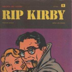 Cómics: RIP KIRBY-BURULAN-AÑO 1973-COLOR-FORMATO GRAPA-Nº 5-MANGLER EL TRITURADOR. Lote 128617871