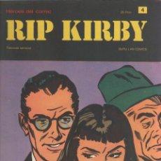Cómics: RIP KIRBY-BURULAN-AÑO 1973-COLOR-FORMATO GRAPA-Nº 4-LA FORMULA ROBADA. Lote 128618099