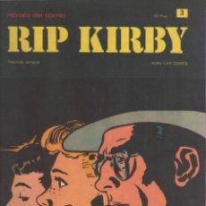 Cómics: RIP KIRBY-BURULAN-AÑO 1973-COLOR-FORMATO GRAPA-Nº 3-LA FORMULA ROBADA. Lote 128618415