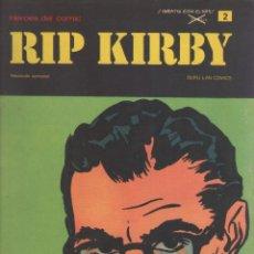 Cómics: RIP KIRBY-BURULAN-AÑO 1973-COLOR-FORMATO GRAPA-Nº 2-EL CASO FARADAY. Lote 128618691