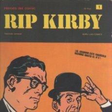 Cómics: RIP KIRBY-BURULAN-AÑO 1973-COLOR-FORMATO GRAPA-Nº 1-EL CASO FARADAY. Lote 128618995