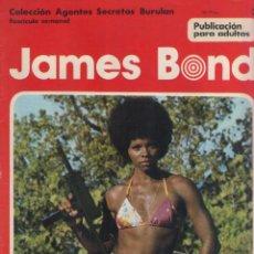 Cómics: JAMES BOND-BURULAN-AÑO 1974-COLOR-FORMATO GRAPA-Nº 2-A TRAVES DEL MURO UN EXTRAÑO EJEMPLAR. Lote 128623407