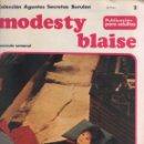 Cómics: MODESTY BLAISE-BURULAN-AÑO 1974-COLOR-FORMATO GRAPA-Nº 2-LA BARRA. Lote 128623807