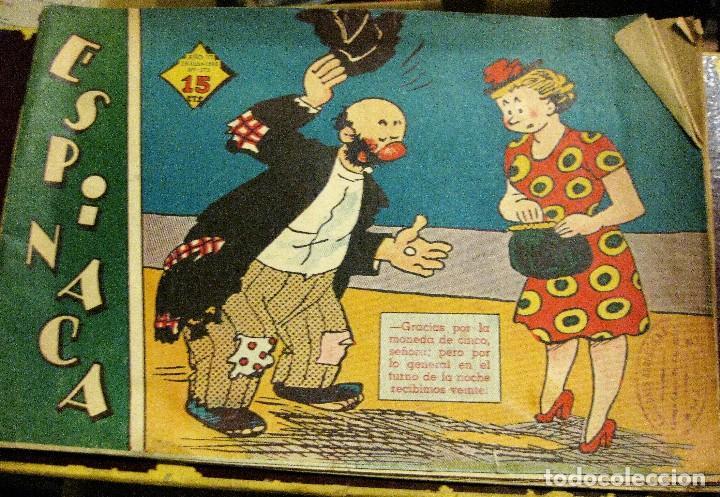 COMIC ESPINACA 1948 . ED MANUEL LAINEZ EDICIONES ARGENTINAS BUENOS AIRES . POPEYE / WIMPY OLIVIA (Tebeos y Comics - Buru-Lan - Popeye)