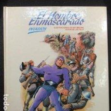 Cómics: HOMBRE ENMASCARADO Nº 2 TAPA DURA : INVASIÓN (1983) MUY BIEN CONSERVADO. Lote 128831183