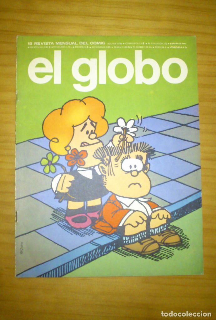 EL GLOBO - NÚMERO 15 - AÑO 1974 - BUEN ESTADO (Tebeos y Comics - Buru-Lan - Otros)