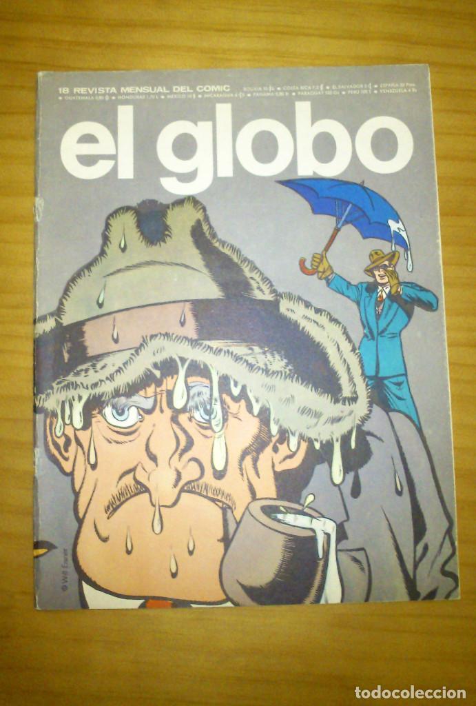 EL GLOBO - NÚMERO 18 - AÑO 1974 (Tebeos y Comics - Buru-Lan - Otros)