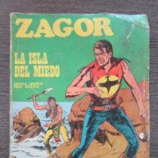 Cómics: ZAGOR Nº 15. LA ISLA DEL MIEDO. BURU LAN. 1971. Lote 128994811