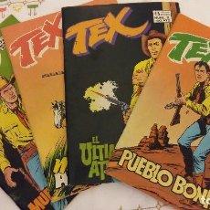 Cómics: LOTE 6 TEBEO TEX. Lote 129002303