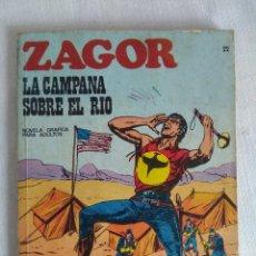 Cómics: ZAGOR Nº22/BURU LAN. Lote 129002703