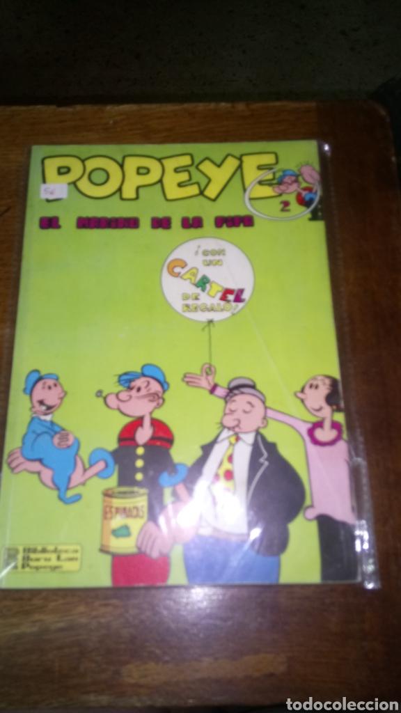 CÓMIC DE POPEYE Nº 2, BURULAN DE EDICIONES 35 PESETAS DE LOS AÑOS 70 (Tebeos y Comics - Buru-Lan - Popeye)
