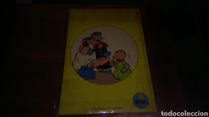 Cómics: Cómic de popeye nº 3, burulan de ediciones 35 pesetas de los años 70 - Foto 2 - 129144072
