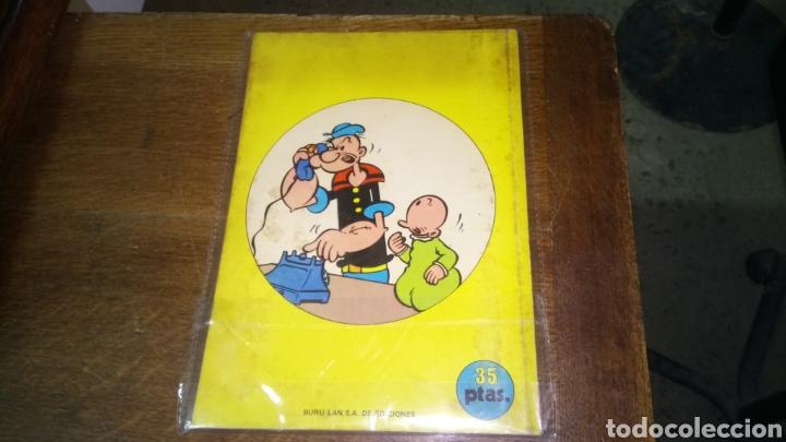 Cómics: Cómic de popeye nº 3, burulan de ediciones 35 pesetas de los años 70 - Foto 3 - 129144072