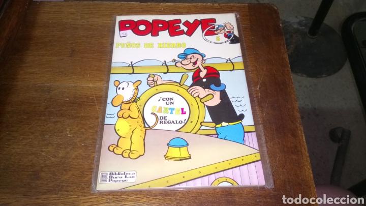 CÓMIC DE POPEYE N° 5, BURULAN DE EDICIONES 40 PESETAS DE LOS AÑOS 70 (Tebeos y Comics - Buru-Lan - Popeye)