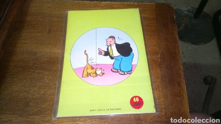 Cómics: Cómic de popeye n° 5, burulan de ediciones 40 pesetas de los años 70 - Foto 2 - 129144578