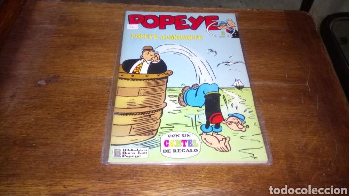 CÓMIC DE POPEYE N ° 8, BURULAN DE EDICIONES DE 40 PESETAS DE LOS AÑOS 70 (Tebeos y Comics - Buru-Lan - Popeye)