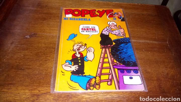 CÓMIC DE POPEYE N° 13 BURULAN DE EDICIONES DE 40 PESETAS DE LOS AÑOS 70 (Tebeos y Comics - Buru-Lan - Popeye)