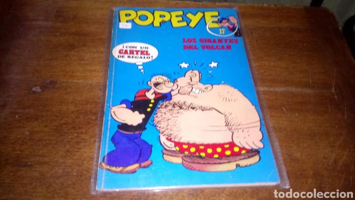 CÓMIC DE POPEYE N° 17 BURULAN DE EDICIONES DE 40 PESETAS DE LOS AÑOS 70 (Tebeos y Comics - Buru-Lan - Popeye)