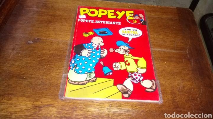 CÓMIC DE POPEYE N°19 BURULAN DE EDICIONES DE 40 PESETAS DE LOS AÑOS 70 (Tebeos y Comics - Buru-Lan - Popeye)