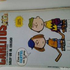 Cómics: CARLITOS Y LOS CEBOLLETAS SALLY VA AL COLEGIO 37 BURU LAN 1974. Lote 181347763