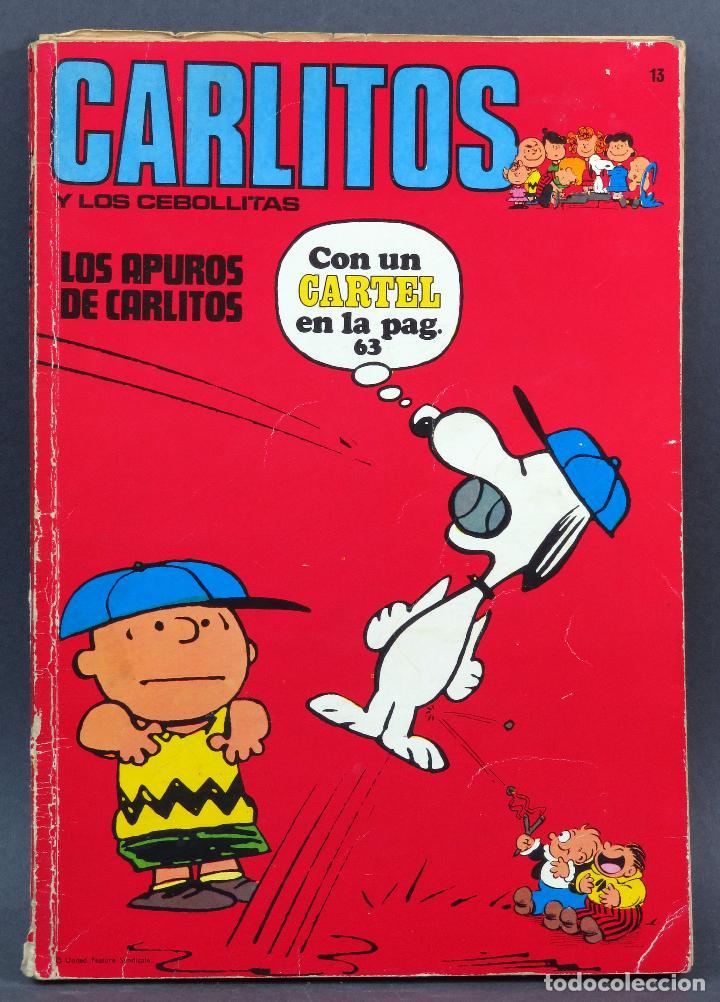 CARLITOS Y LOS CEBOLLITAS LOS APUROS DE CARLITOS Nº 13 ED BURU LAN BURULAN 1972 (Tebeos y Comics - Buru-Lan - Otros)