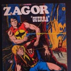 Cómics: ZAGOR N° 62 - GUERRA - BURU LAN - BURULAN 1973. Lote 129290583