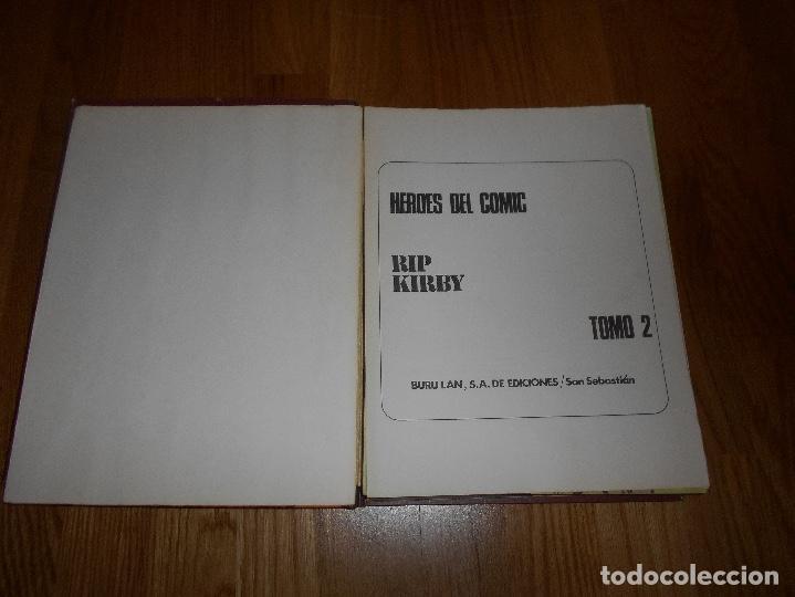 Cómics: RIP KIRBY TOMO Nº 1 242 PGNAS REGALO TOMO 2 BURU LAN COMICS HEROES DEL COMIC AÑOS 70 B.E. - Foto 7 - 129296199