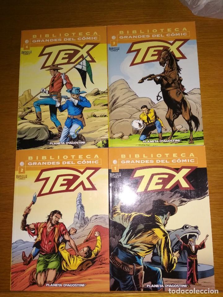Cómics: Comics Oeste Tex completa biblioteca grandes del comic Jonathan Cartland grijalbo completa Mac Coy - Foto 8 - 129458455