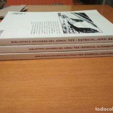 Cómics: COMICS OESTE TEX COMPLETA BIBLIOTECA GRANDES DEL COMIC JONATHAN CARTLAND GRIJALBO COMPLETA MAC COY. Lote 129458455