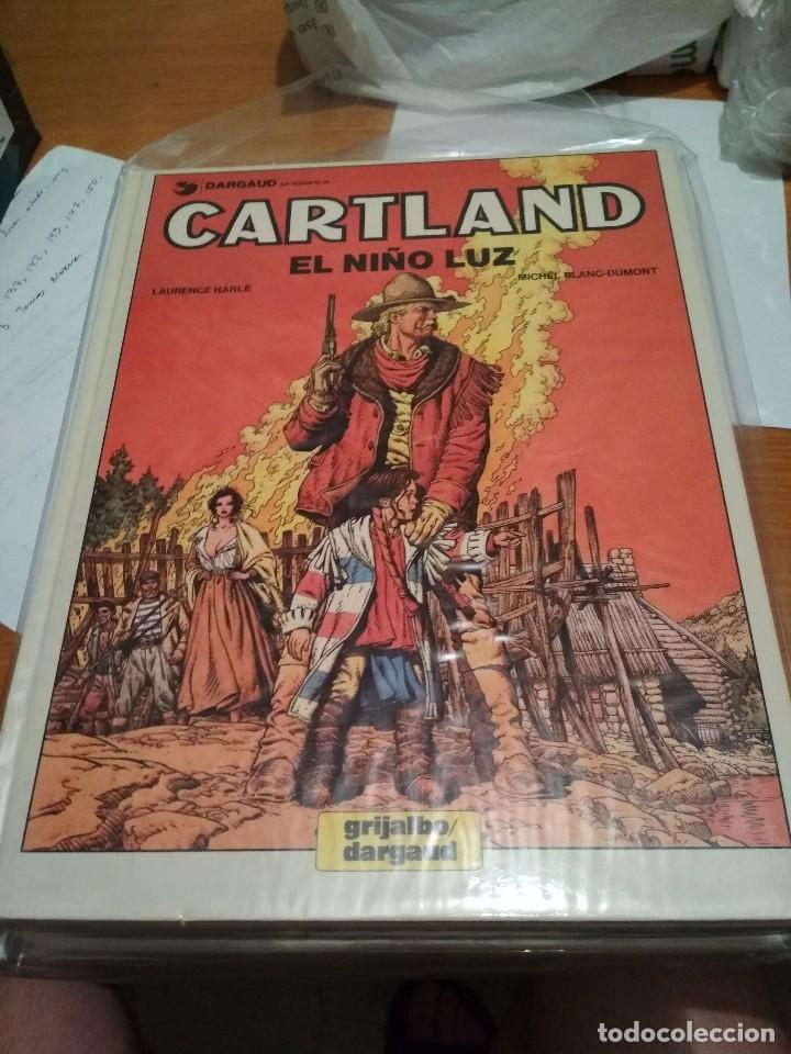 Cómics: Comics Oeste Tex completa biblioteca grandes del comic Jonathan Cartland grijalbo completa Mac Coy - Foto 24 - 129458455