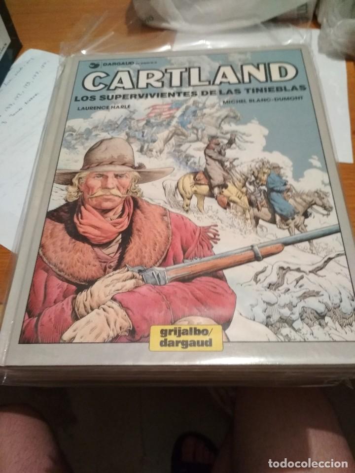 Cómics: Comics Oeste Tex completa biblioteca grandes del comic Jonathan Cartland grijalbo completa Mac Coy - Foto 25 - 129458455
