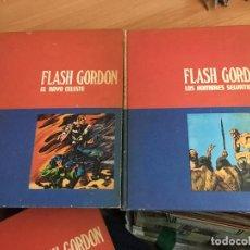 Cómics: FLASH GORDON TOMO 01 Y 02 EL RAYO CELESTE. LOS HOMBRES SELVATICOS HEROES DEL COMIC (BURULAN) (COIM1). Lote 129746951