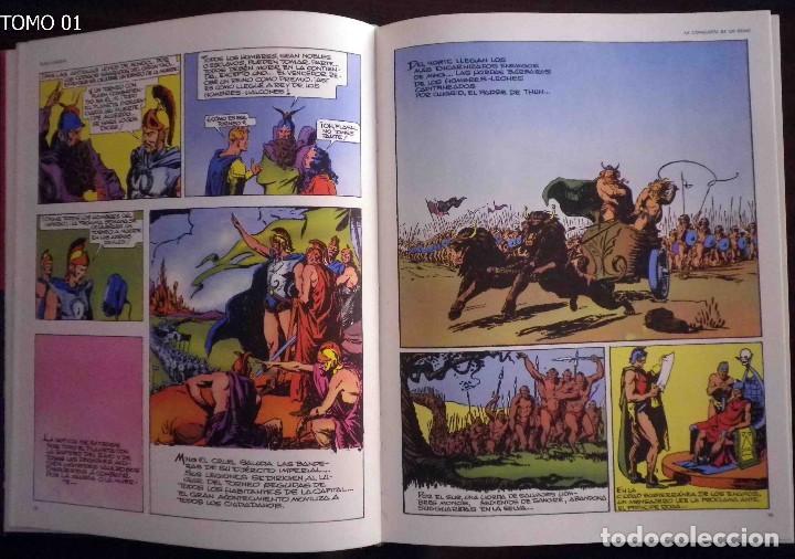 Cómics: Flash Gordon Buru Lan Tomos 01 y 2 Leer descripción. - Foto 12 - 134697379