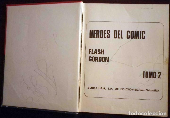 Cómics: Flash Gordon Buru Lan Tomos 01 y 2 Leer descripción. - Foto 16 - 134697379