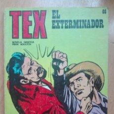 Cómics: TEX 66 EL EXTERMINADOR. Lote 129969147
