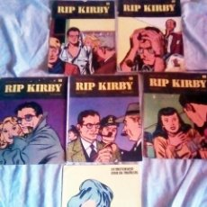 Cómics: LOTE DE 6 NUMEROS DE - RIP KIRBY - BURU LAN COMICS .Nº 5, 6, 7 , 9 , 10 ,11.. Lote 130736474