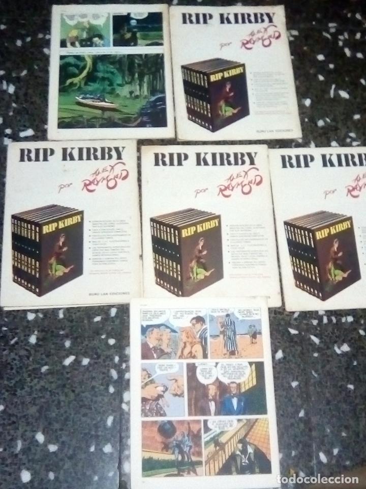 Cómics: LOTE DE 6 NUMEROS DE - RIP KIRBY - BURU LAN COMICS .Nº 5, 6, 7 , 9 , 10 ,11. - Foto 2 - 130736474