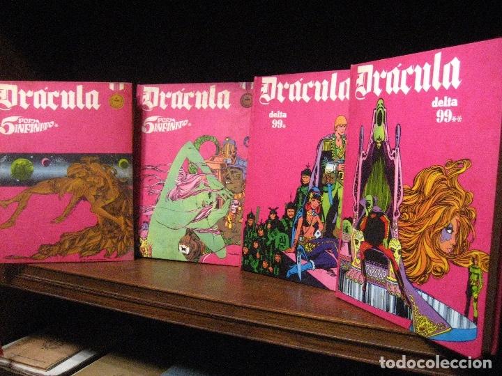 DRACULA TOMOS 2,3,4,5 EDITORIAL BURULAN 1972 REF ENCI (Tebeos y Comics - Buru-Lan - Drácula)