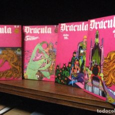 Cómics: DRACULA TOMOS 2,3,4,5 EDITORIAL BURULAN 1972. Lote 130872816
