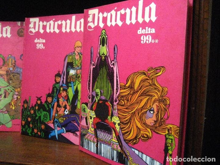 Cómics: DRACULA TOMOS 2,3,4,5 Editorial Burulan 1972 REF ENCI - Foto 2 - 130872816