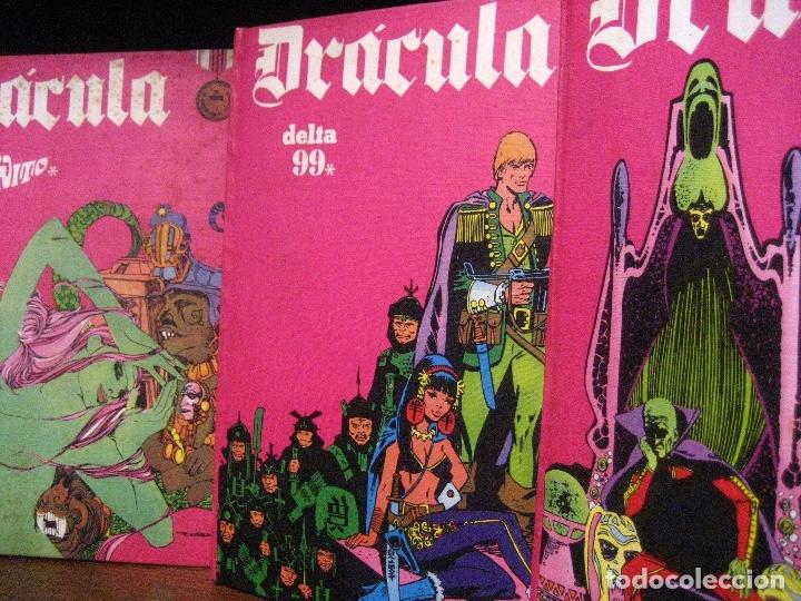 Cómics: DRACULA TOMOS 2,3,4,5 Editorial Burulan 1972 REF ENCI - Foto 3 - 130872816
