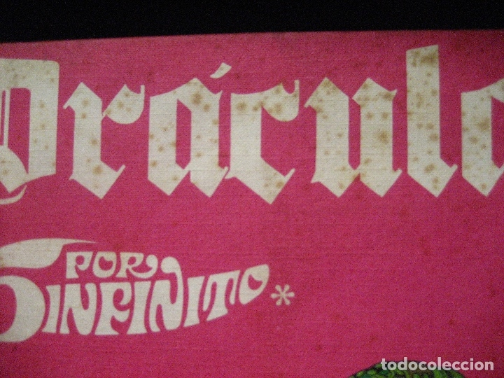 Cómics: DRACULA TOMOS 2,3,4,5 Editorial Burulan 1972 REF ENCI - Foto 5 - 130872816