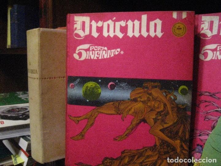 Cómics: DRACULA TOMOS 2,3,4,5 Editorial Burulan 1972 REF ENCI - Foto 6 - 130872816