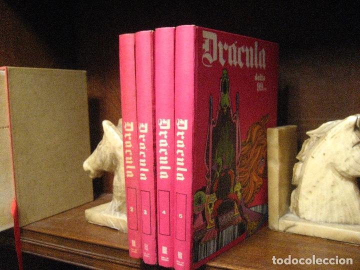 Cómics: DRACULA TOMOS 2,3,4,5 Editorial Burulan 1972 REF ENCI - Foto 7 - 130872816